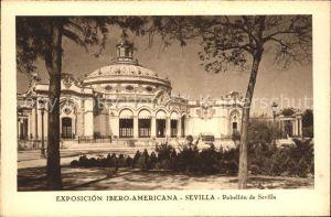 Sevilla Andalucia Pabellon de Sevilla  Exposicion Kat. Sevilla
