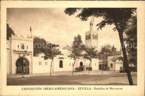 Sevilla Andalucia Exposicion ibero Americana Pabellon de Marruecos Kat. Sevilla