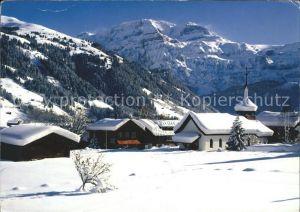 Lenk Simmental Berner Oberland Katholische Kirche Kat. Lenk Simmental