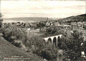 Goldach Rorschach Blick Bodensee Vorarlberg Kat. Goldach