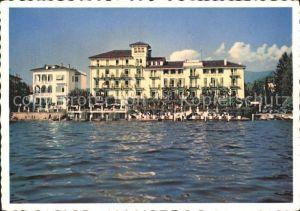 Lugano TI Strandhotel Seegarten Lago di Lugano Kat. Lugano