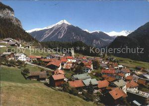 Alvaneu Dorf mit Muchetta Albulatal Kat. Alvaneu Dorf