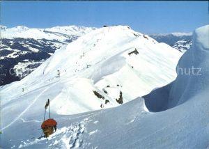 Piz Mundaun Gipfelrestaurant Lift Kat. Piz Mundaun