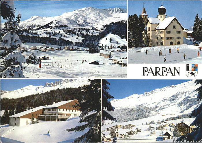 Parpan Skigebiet Alp Staetz Ferienhaus Schlieren Kirche Kat Parpan