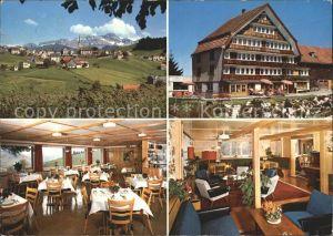 Schwellbrunn Pension Sonnenberg Gast und Aufenthaltsraum Kat. Schwellbrunn