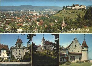 Lenzburg AG Ortsansicht / Lenzburg /Bz. Lenzburg