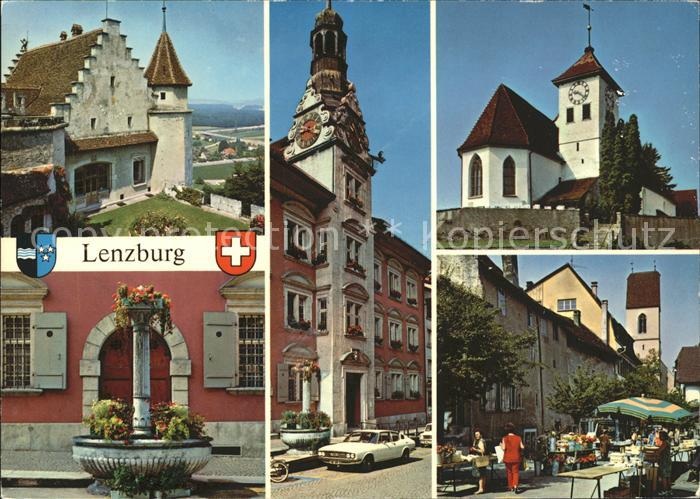Lenzburg AG Markt  / Lenzburg /Bz. Lenzburg