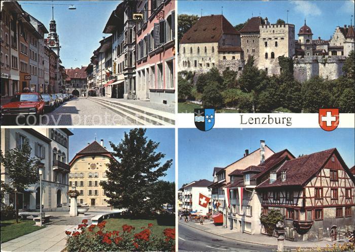 Lenzburg AG Stadtansichten / Lenzburg /Bz. Lenzburg