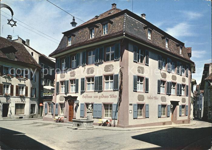 Rheinfelden AG Hotel Zum goldenen Adler Kat. Rheinfelden