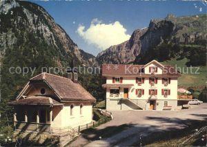 Bisisthal Gasthaus Schwarzenbach Kat. Bisisthal