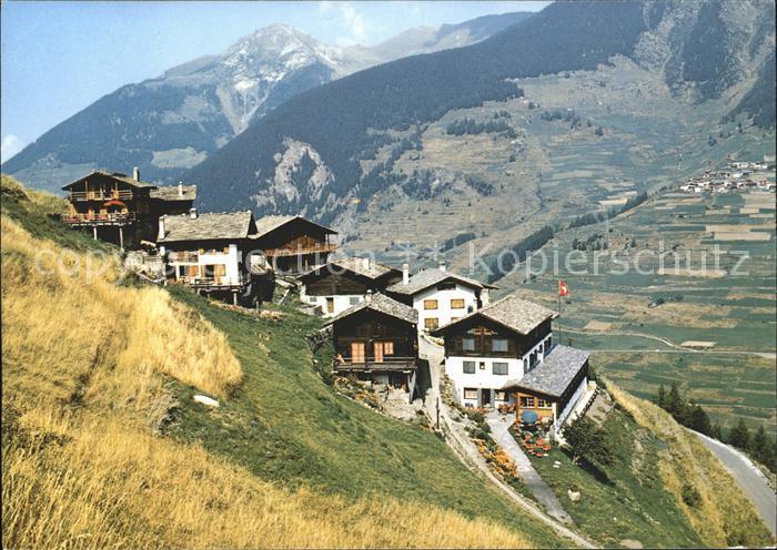 Vicheres Entremont Dorfpartie Route du Grand St Bernard Kat. Vicheres