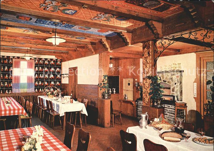 Granois Salle a manger Restaurant du Vieux Bisse Kat. Granois Nr ...