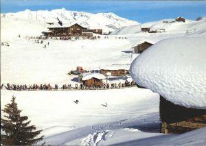 Piz Mundaun Bergrestaurant Cuolm Sura Kat. Piz Mundaun