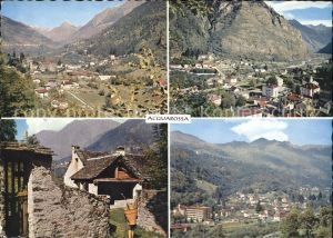 Acquarossa Valle Blenio Ortsansichten Dorfmotiv Kat. Acquarossa