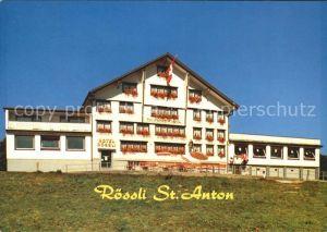 Oberegg IR Hotel Roessli St Anton Kat. Oberegg