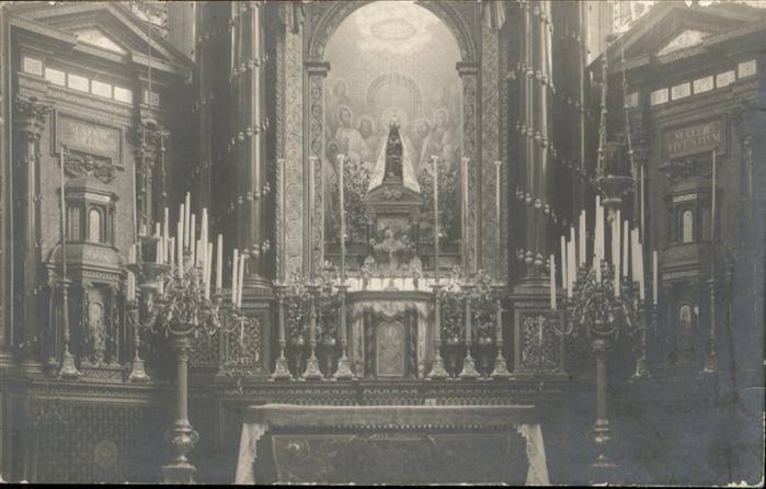 Liesse-Notre-Dame Liesse [handschriftlich] Altar Kirche * / Liesse-Notre-Dame /Arrond. de Laon