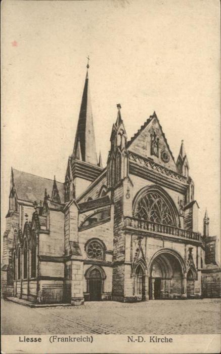Liesse-Notre-Dame Liesse Notre-Dame-Kirche * / Liesse-Notre-Dame /Arrond. de Laon