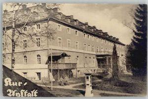 Bad Alexandersbad Kuranstalt x 1916 / Bad Alexandersbad /Wunsiedel LKR