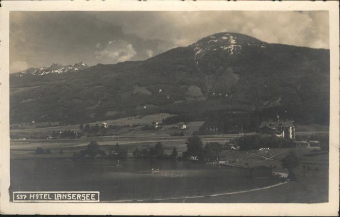 Lans Tirol See / Lans /Innsbruck