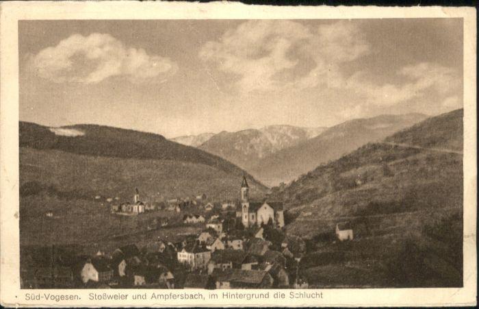 Ampfersbach Haut-Rhin Stossweier Vogesen * / Stosswihr /Arrond. de Colmar