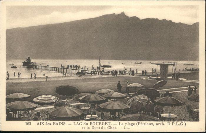 Aix-les-Bains Le Bourget-du-Lac la Plage la Dent du Chat * / Aix-les-Bains /Arrond. de Chambery
