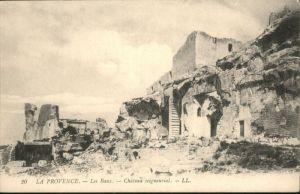 Les Baux-de-Provence Les Baux Chateau seigneurial * / Les Baux-de-Provence /Arrond. d Arles