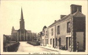 Lassay-les-Chateaux Rue Rglise * / Lassay-les-Chateaux /Arrond. de Mayenne