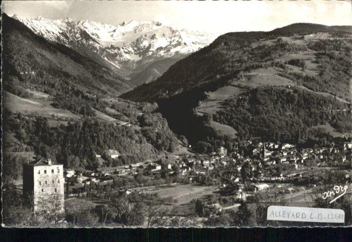Allevard les Bains Isere Gleyzin  x / Allevard /Arrond. de Grenoble
