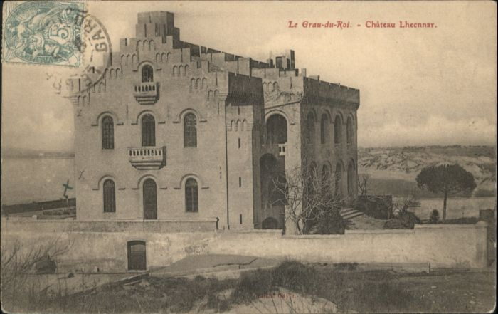 Le Grau-du-Roi Gard Le Grau-du-Roi Chateau Lhecnnar x / Le Grau-du-Roi /Arrond. de Nimes