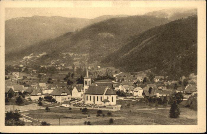 Ampfersbach Haut-Rhin  / Stosswihr /Arrond. de Colmar