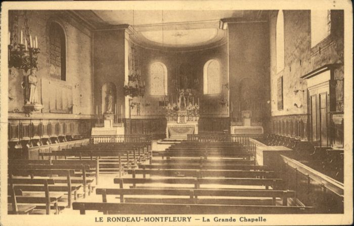 Corenc Le Rondeau-Montfleury Grande Chapelle * / Corenc /Arrond. de Grenoble