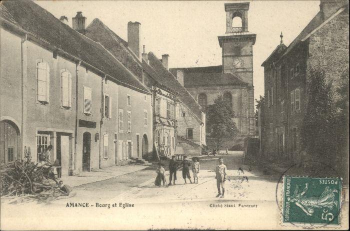 Granges-le-Bourg Bourg Eglise x / Granges-le-Bourg /Arrond. de Lure