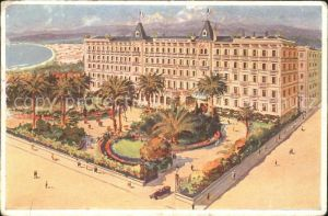 Nice Alpes Maritimes Grand Hotel des Palmiers Kat. Nice