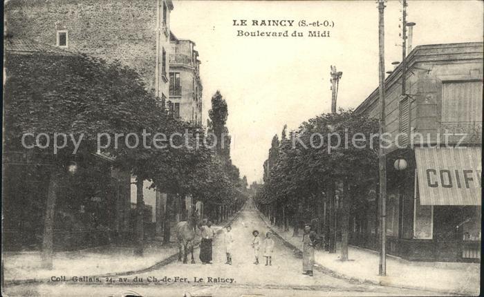 Le Raincy Le Raincy Boulevard du Midi Kat. Le Raincy