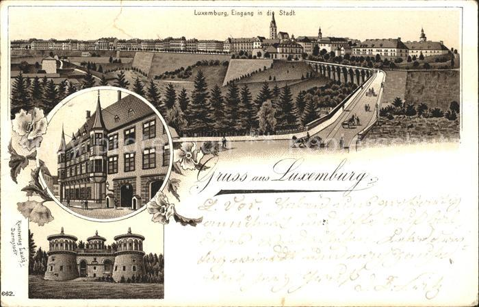 Luxembourg Luxemburg Eingang in die Stadt / Luxembourg /