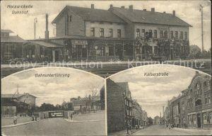 Holzwickede Bahnhof Unterfuehrung Kaiserstrasse Kat. Holzwickede