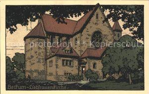 Beckum Westfalen Liebfrauenkirche Kat. Beckum