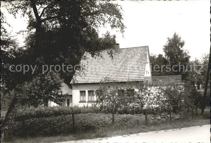 Hoerste Halle Haus am Wald Kat. Halle (Westf.)