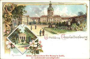 Charlottenburg Schloss Mausoleum Blumen / Berlin /Berlin Stadtkreis