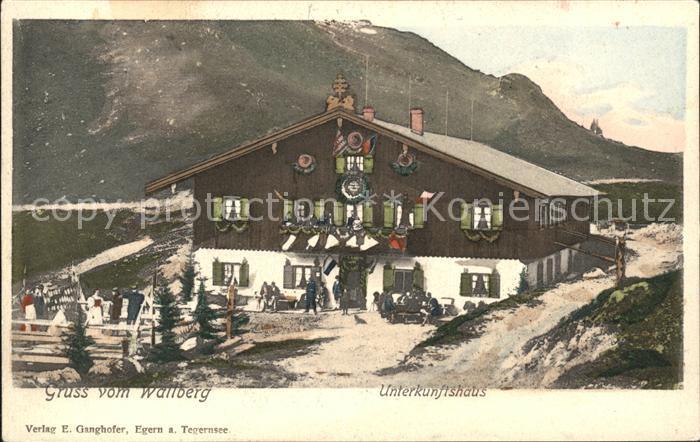 Wallberg Unterkunftshaus Kat. Tegernsee