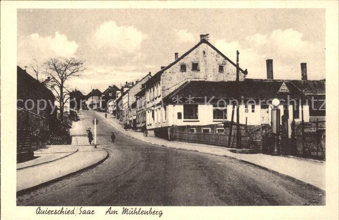 Quierschied Am Muehlenberg Strassenpartie Kat. Quierschied