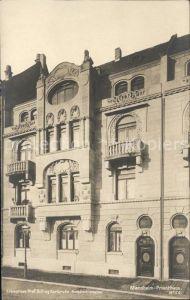 Mannheim Privathaus Kat. Mannheim