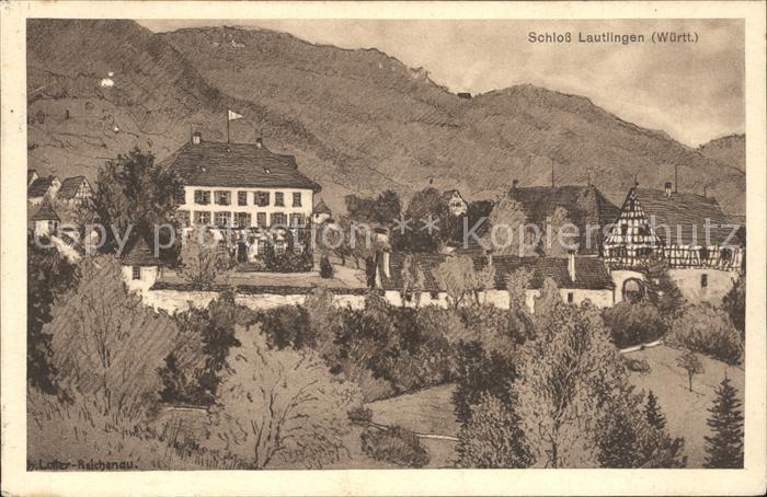 Lautlingen Schloss Kat. Albstadt