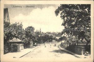 Lemberg Moselle Hauptstrasse Kat. Lemberg