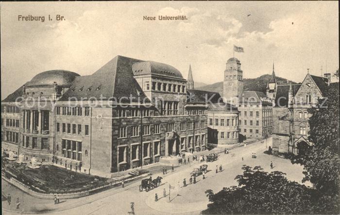 Freiburg Breisgau Neue Universitaet Kat. Freiburg im Breisgau