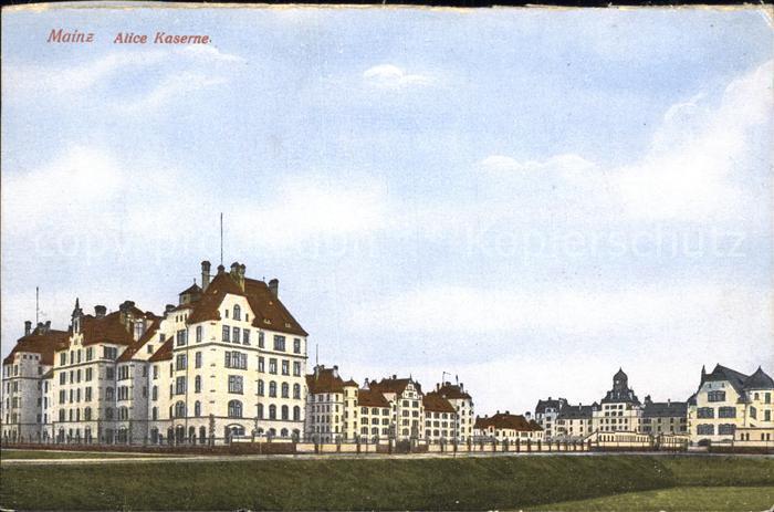 Mainz Rhein Alice Kaserne / Mainz Rhein /Mainz Stadtkreis