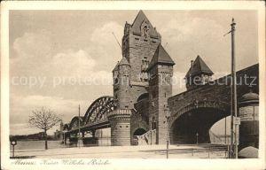 Mainz Rhein Kaiser Wilhelm Bruecke / Mainz Rhein /Mainz Stadtkreis