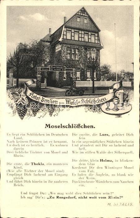 Rengsdorf Hotel Pension Moselschloesschen Kat. Rengsdorf