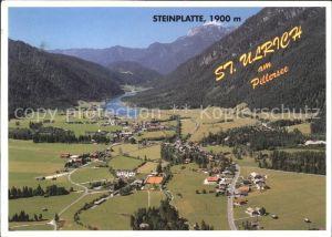 St Ulrich Pillersee Fliegeraufnahme Alpenpanorama Kat. St. Ulrich am Pillersee