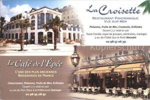 Quimper La Croisette Restaurant Cafe Kat. Quimper